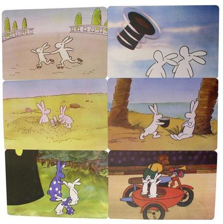 TORO | Prostírání dětské Bob a Bobek, 4 designy, 28,5 x 43,5 cm