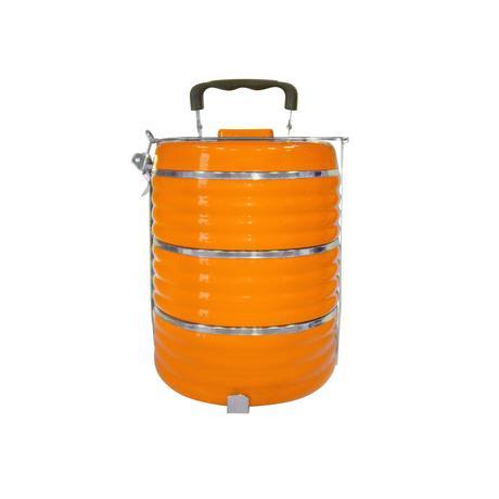 TORO | jídlonosič termo 3 patra, 20 x 15,3 cm