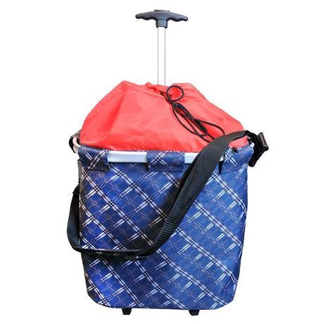 TORO | Nákupní taška na kolečkách s madlem