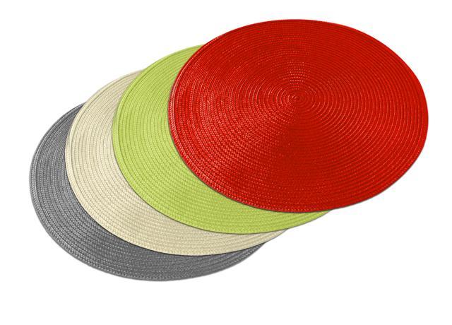 TORO | Prostírání tkané, kulaté, assort