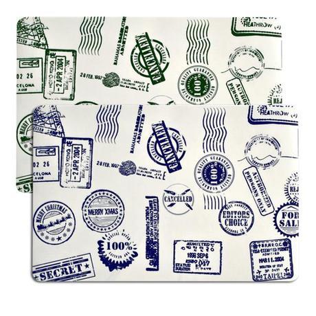 TORO | Prostírání razítka, 43,5 x 28,5 cm, plast