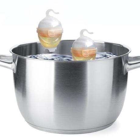 TORO | Nádobka na vaření vajec, 2 ks, plast