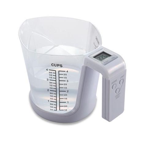 TORO | ODMĚRKA S DIGITÁLNÍ VÁHOU, 3 kg, 21x14x14,5cm
