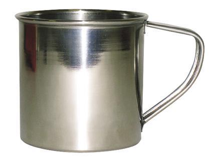 TORO | Hrnek nerez TORO s ouškem, objem 500 ml, průměr 8, 5 cm