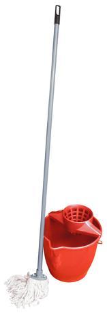 TORO | Set provázkový mop a kbelík se ždímadlem, objem 10 l, 27 x 26 cm