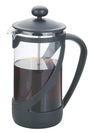 TORO | Konvice na kávu 1 l s filtračním pístem a plast. víčkem