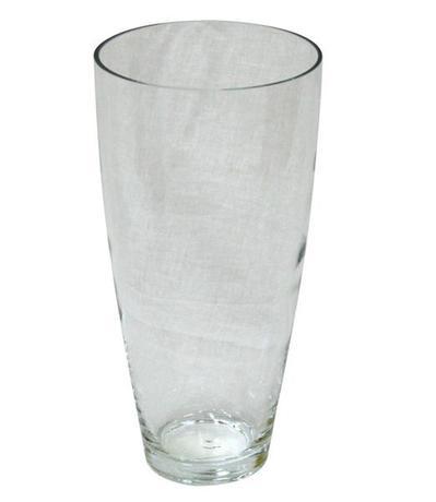 TORO | váza skleněná čirá 8,1 x 28,3 cm