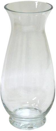 TORO | váza skleněná čirá 9,4 x 29,8 cm