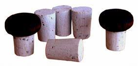TORO | korková zátka s dřevěnou čepičkou set 6 ks