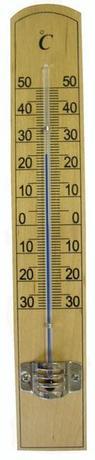 Provence | Teploměr pokojový, od - 30 °C do + 50 °C, 20 x 3,1 x 0,8 cm