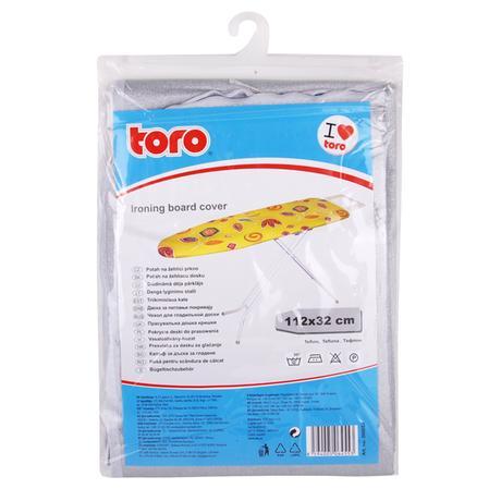 TORO | Potah na žehlící prkno - nepřilnavý povrch, 32 x 112 cm