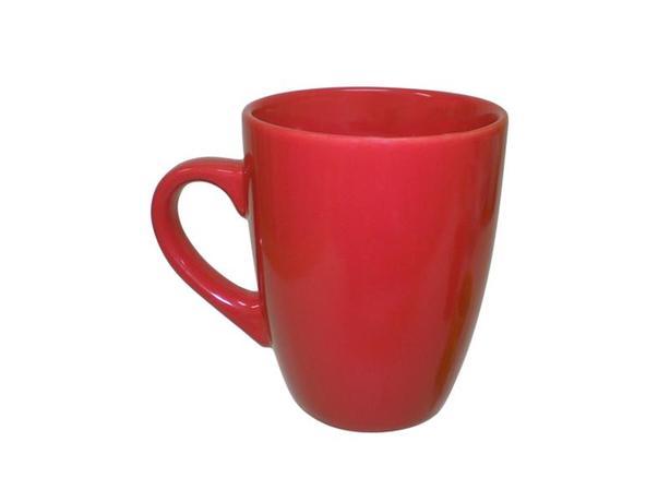 TORO | Hrnek keramika 340 ml, červený
