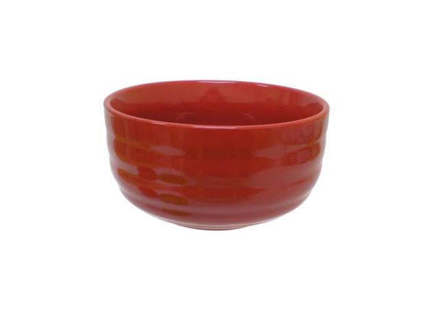 TORO | Miska objem 600 ml, keramika, červená