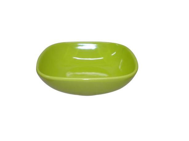 TORO | Miska polévková, čtverec, 16,6 cm, zelená