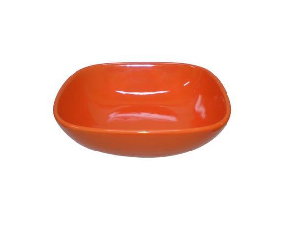 TORO | Miska polévková, čtverec, 16,6 cm, oranžová