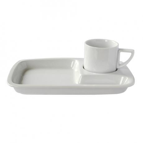 TORO | Šálek s podnosem, porcelán