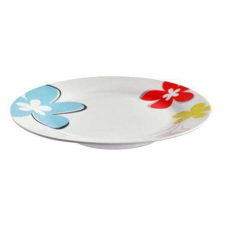 TORO | Talíř dezertní, porcelán, květy