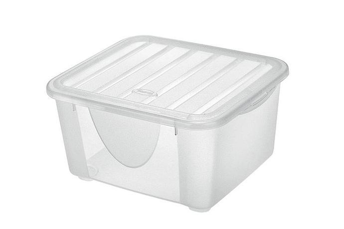 Tontarelli | Box úložný DODO s víkem, objem 2 l, transparentní