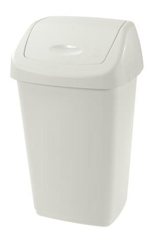 Tontarelli | Koš na odpadky SWING AURORA, objem 9 l,bílý