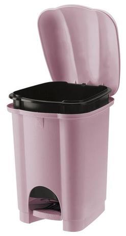 Tontarelli | Koš na odpadky CAROLINA, objem 6 l, lila