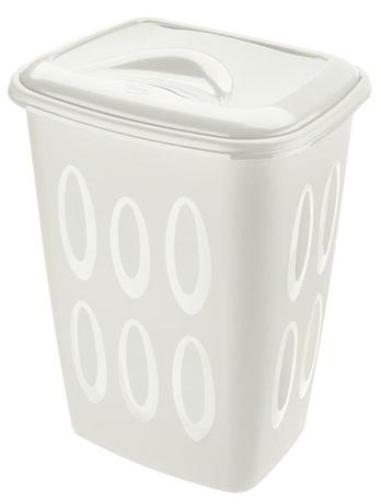 Tontarelli | Koš na špinavé prádlo, objem 45 l, bílý