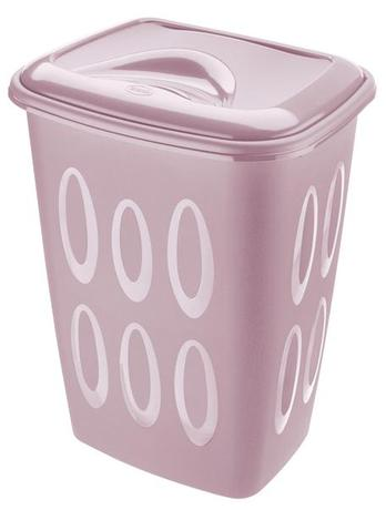 Tontarelli | Koš na špinavé prádlo, objem 45 l, lila