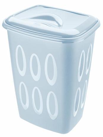 Tontarelli | Koš na špinavé prádlo, objem 45 l, světle modrý