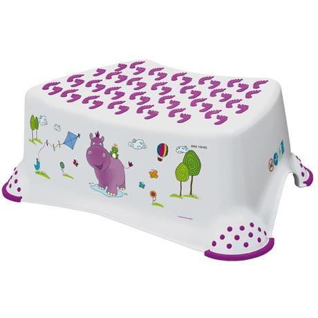 OKT | Dětská stolička HIPPO - bílá