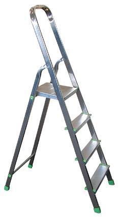 TORO | schůdky hlíníkové 4 stupně 150 x 30 x 11,5 cm