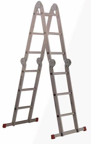 Pirola | žebřík skládací univerzální 4 polohy, 66 x 329 cm - doprava zdarma