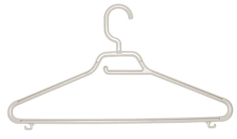 Tontarelli | Ramínko Maxi s pevným háčkem, set 3 ks, bílá