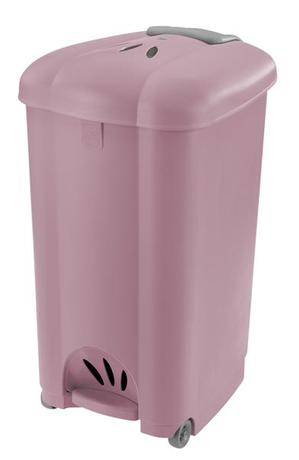 Tontarelli | Koš odpadkový Carolina, 50 l, lila