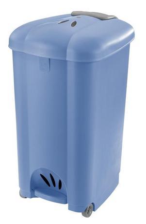 Tontarelli | Koš odpadkový Carolina, 50 l, světle modrý