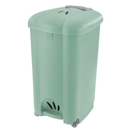 Tontarelli | Koš odpadkový Carolina, 50 l, světle zelený