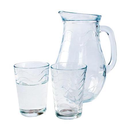 Passabahce   Sada džbán + 6 sklenic TOROS