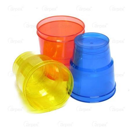 Nezařazeno | Kelímky NEON plastové 250ml 6ks