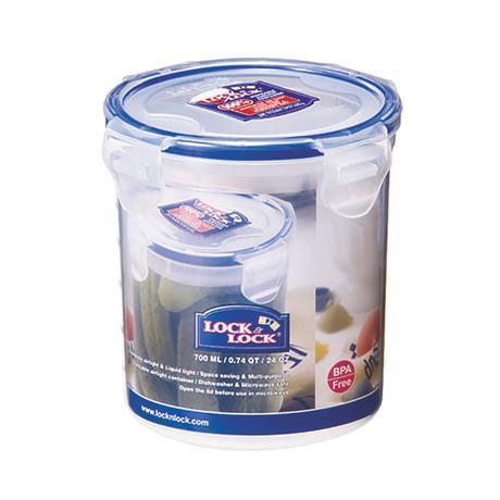LOCK&LOCK | Dóza na potraviny LOCK, objem 700 ml, průměr 9, 1 cm
