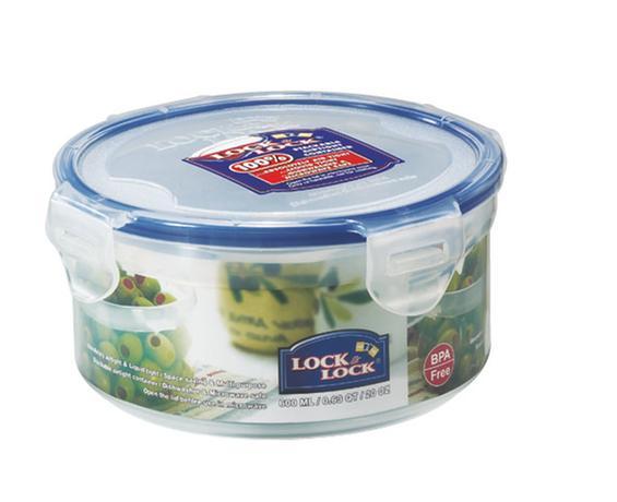LOCK&LOCK | Dóza na potraviny LOCK, objem 600 ml, průměr 12, 1 cm