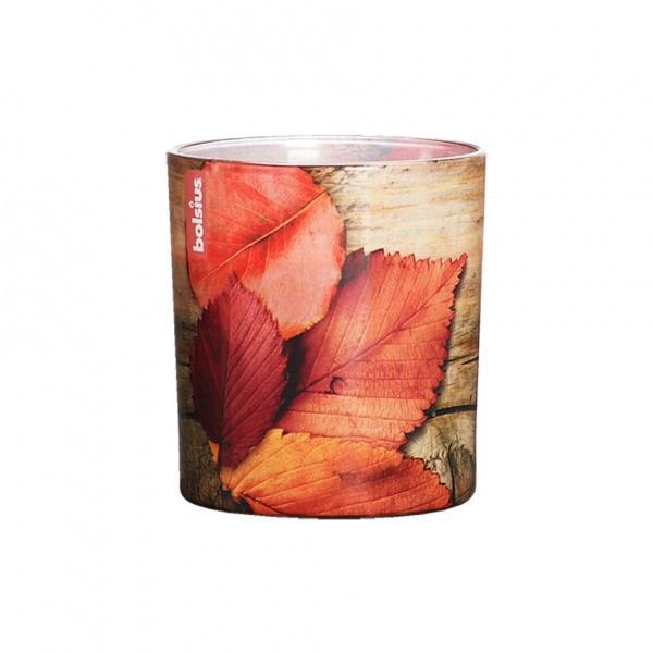 Vonná svíčka ve skle 80/70, Podzimní listí