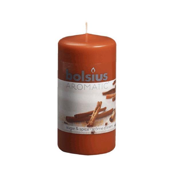 Svíčka válce koření, 5,9 x 12,1 cm