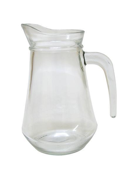 Džbán skleněný, objem 1 l