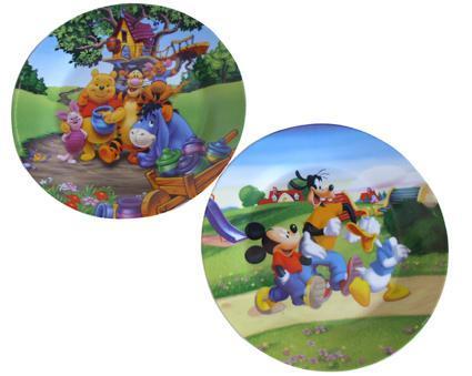 Talíř dezertní s motivem Disney, 23,9 x 2,3 cm