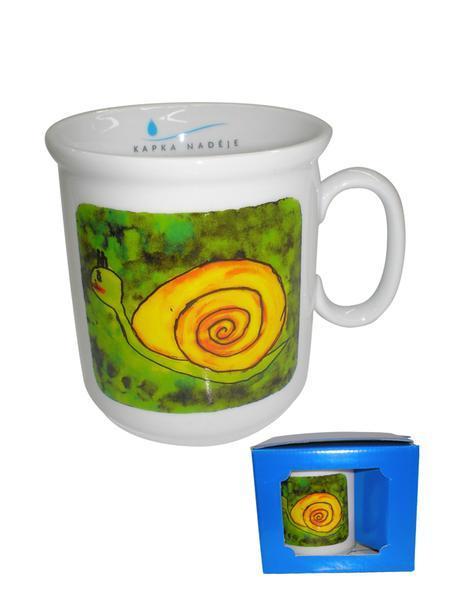 Hrnek kapka naděje, mix motivů, 7, 8 x 8, 4 cm, objem 250 ml