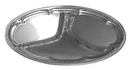 Podnos TORO oválný velký, 33, 5 x 45, 5 x 1, 5 cm