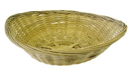 košík proutěný na pečivo 18,5 x 25 x 6,6 cm