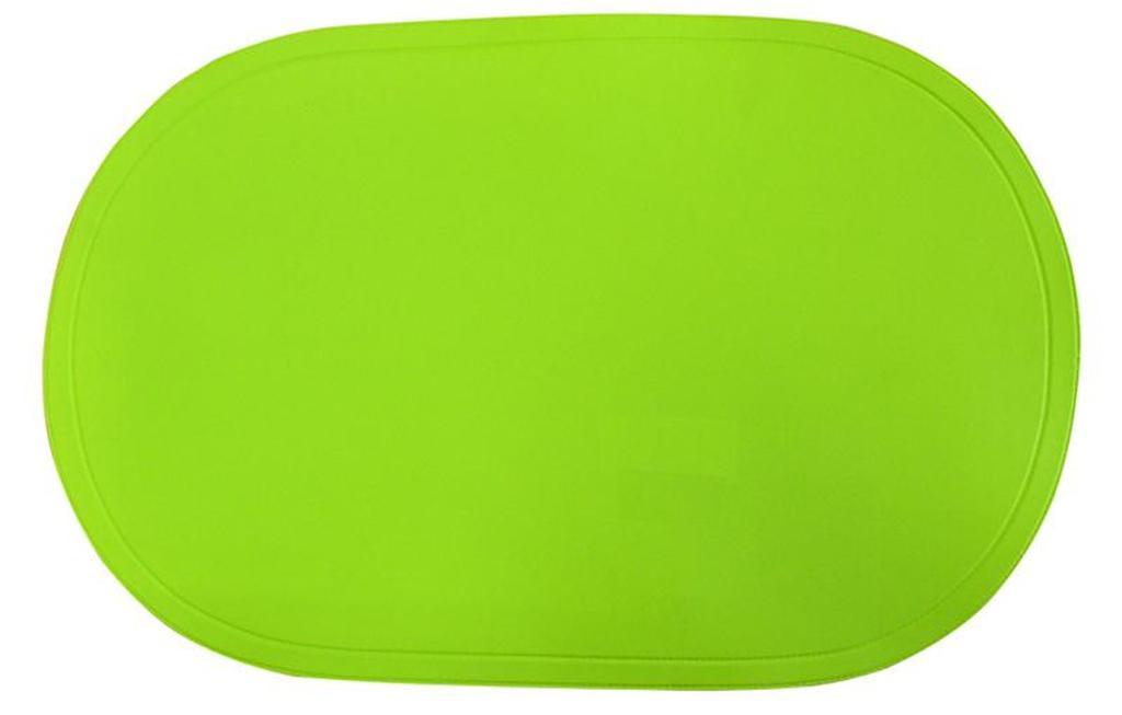 Prostírání ovál zelené, 29 x 44 cm