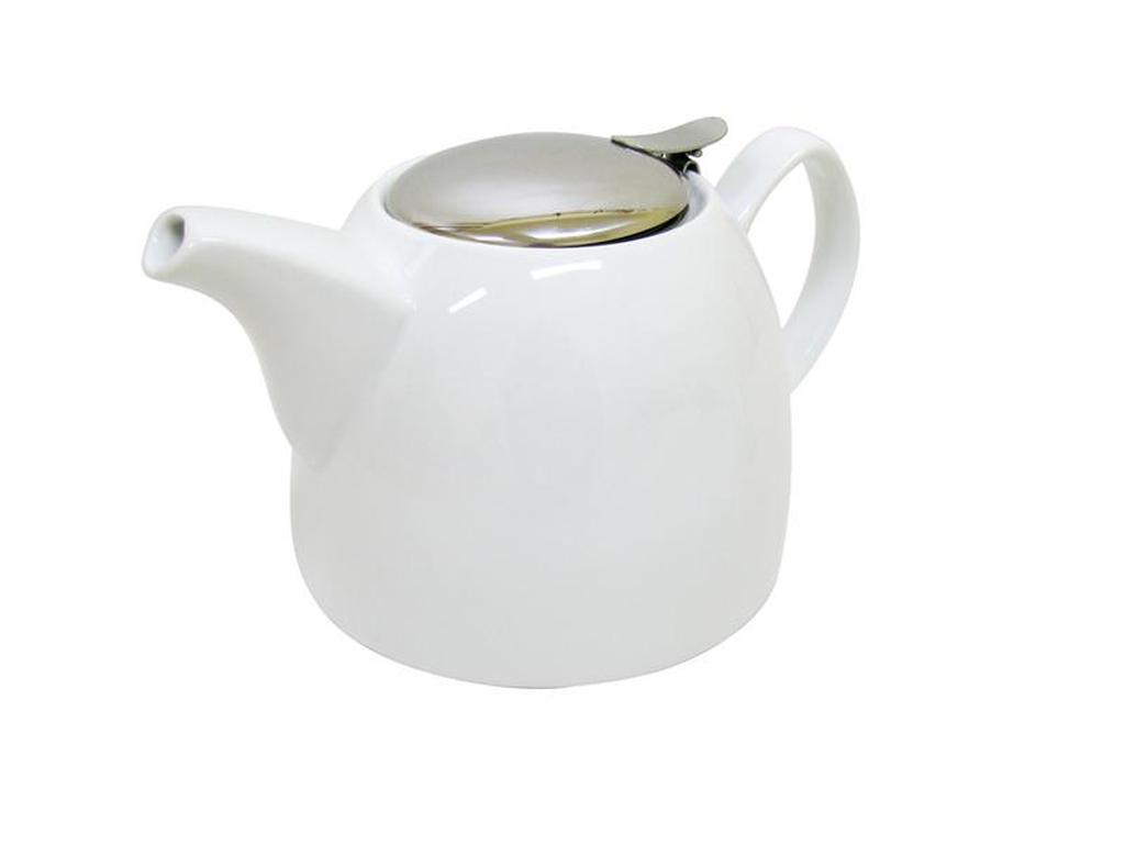 Keramická konvice na čaj 1 l s nerezovým sítkem