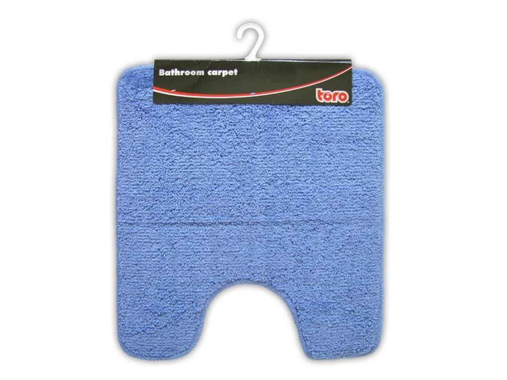 WC předložka modrá, 50 x 55 cm