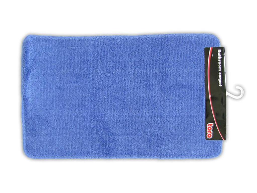 Koupelnová předložka modrá, 50 x 80 cm