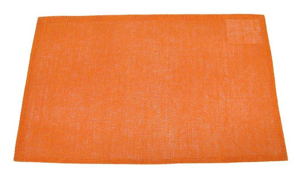 Prostírání celulóza oranžové, 29 x 44 cm